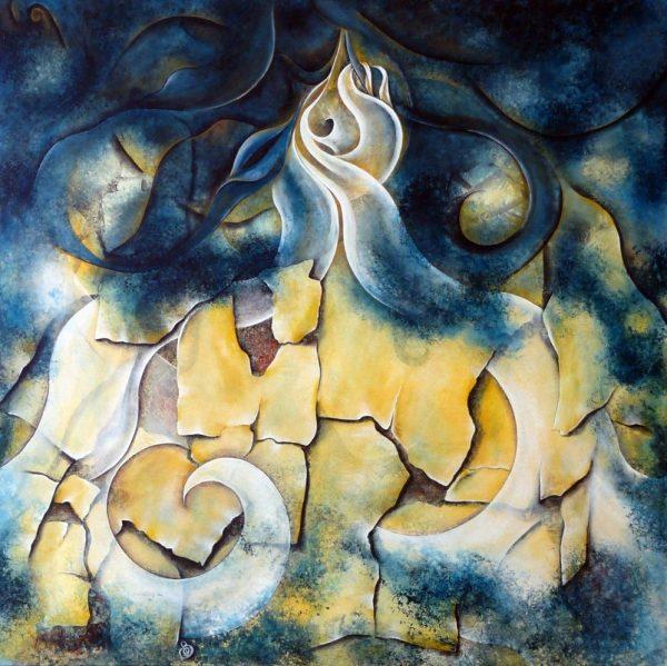 Apparences peinture abstraite Cob Artiste Peintre