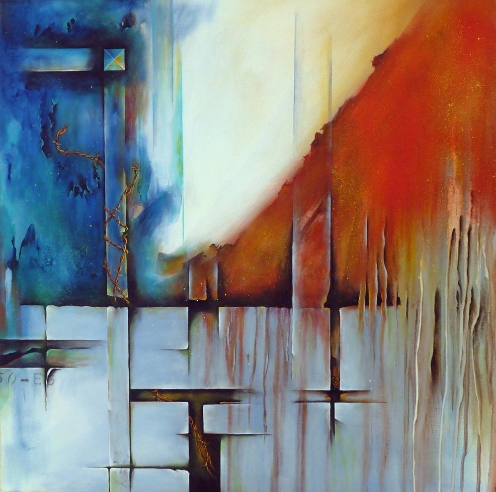 Liberté peinture abstraite Cob Artiste Peintre