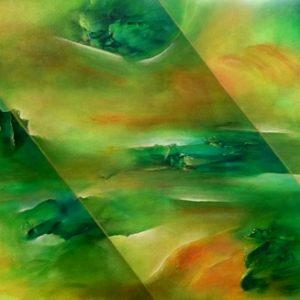 Limbes peinture abstraite Cob Artiste Peintre