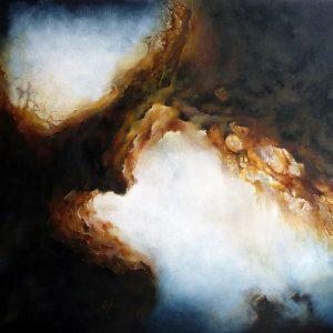 Numéro I peinture abstraite Cob Artiste Peintre