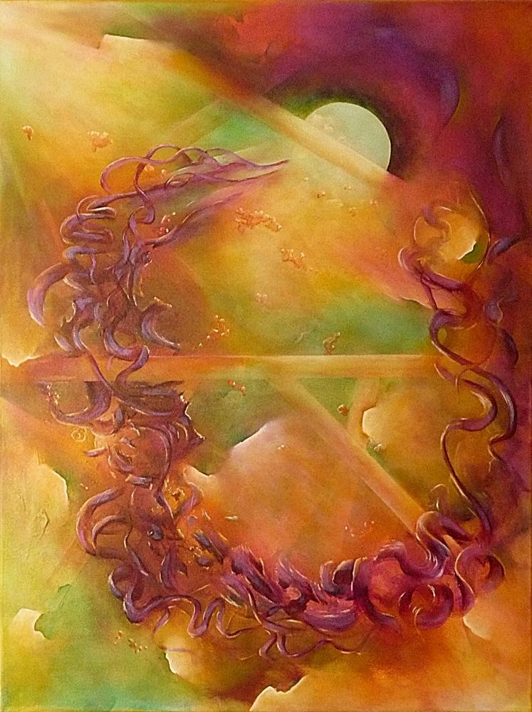 Passage peinture abstraite Cob Artiste Peintre
